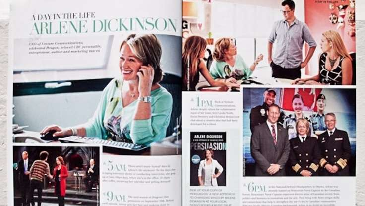 A Day In The Life of <em>Dragons' Den</em> Judge Arlene Dickinson